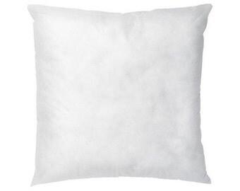 "IKEA INNER cushion filling insert fits 20"" x 20"" Pillow - Pillow filling - Pillow Form Insert - Square - Polyester filled - Cushion filling"
