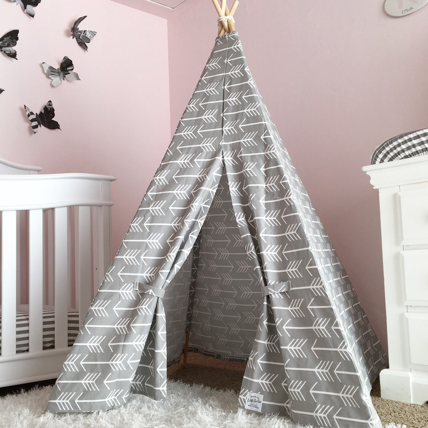 Kids Teepee Tent Grey Arrow Childrens Teepee Tent Toddler