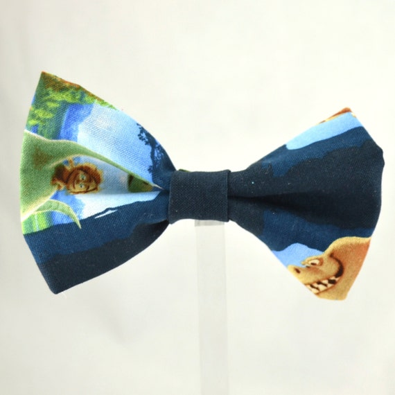 dinosaur bow tie by loopsandbows on etsy