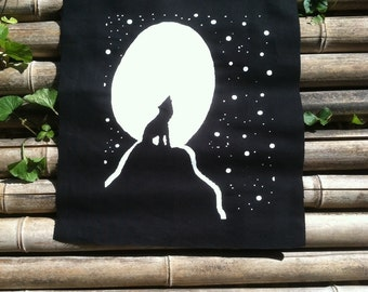 Howl at the Moon Back Patch