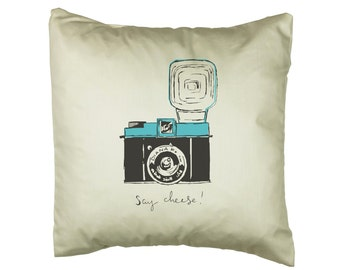 Diana F+ 'Say Cheese' Cushion