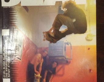 Vintage Slap Skateboard November 1997 Bam Margera Cover VG
