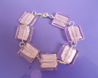 Beautiful square beaded bracelet for that special lady