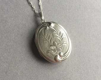 Sterling Silver Picture Locket