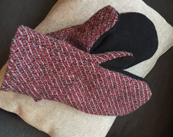 Felted Wool Mitten