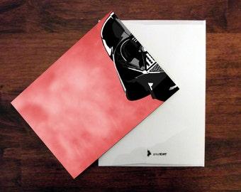 Star Wars Card Star Wars Invitation Thank You Card Birthday Card Anniversary Card Darth Vader Card Stationery Card Star Wars Gift