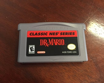 DR. MARIO CLASSIC nes Gameboy Advance Sp Game