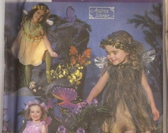 Simplicity Child Fairy Costume pattern Size 3-8