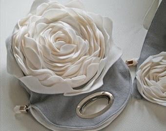 Tasche Handtasche Blumentasche Rose Shabby chic