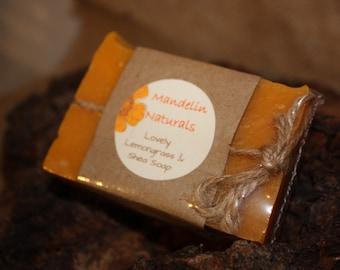 Lovely Lemongrass Shea Soap