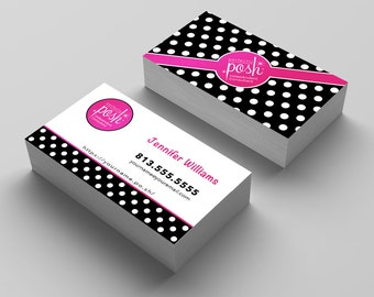 Perfectly Posh Business Card, Perfectly Posh Marketing Materials, Perfectly Posh Consultant Cards, Perfectly Posh Consultant Tools