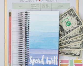 Spend Well Budgeting System - Rainy Day