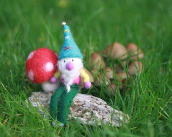 Felt Gnome from the world of Magic