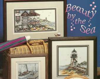Stoney Creek:  Beauty by the Sea Cross Stitch Booklet 137
