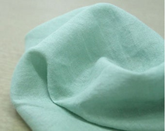 Gauze Fabric Herb Green By The Yard