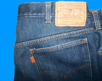 Levis 517  Boot  Flannel Lined  36 W x 30 L  Made in USA