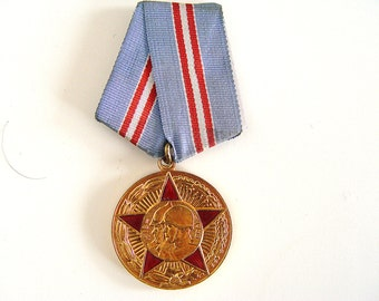 USSR Medal, 50 Years of Soviet Army.