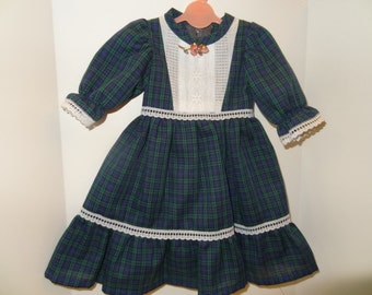 Vintage Handmade Doll Dress-fits American Girl and similar dolls