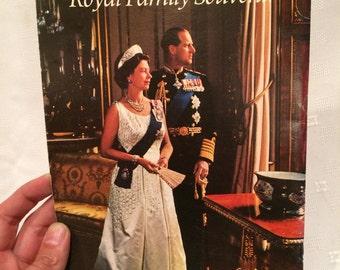 Royal Family Collectible Vintage Book