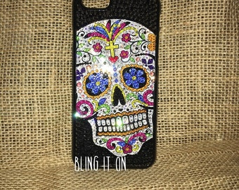 Sugar skull phone case