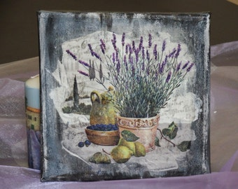 Canvas mixed media Toscana