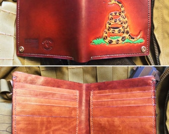 Custom Handmade Billfold  Wallet