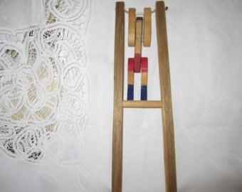 Trapeze Circus Toy made of Wood