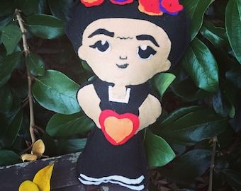 Frida Kahlo doll baby gift