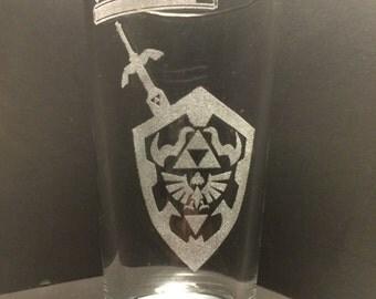 Legend of Zelda Glass