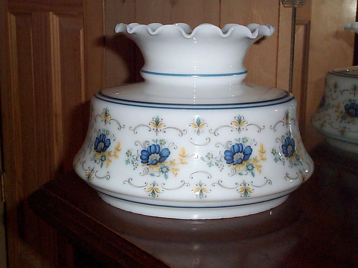 Quoizel Abigail Adams Milk Glass Lamp Shade 6 7 8 Fitter
