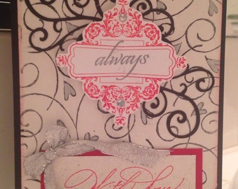Always With Love Card (Fully Customizable)
