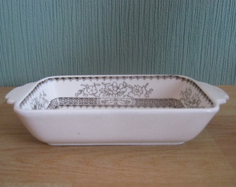Vintage Copeland Spode Chinese Rose Rectangle Dish Rd No 629599