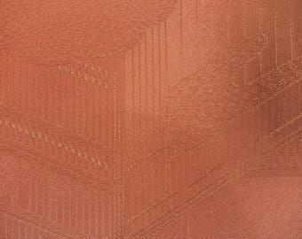 "2pcs(6.6 ""w. x 13.3 ""l.) Vintage kimono silk fabric-cloud & house2676I"