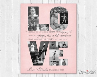 LOVE Parent Wedding Gift - Photos of Bride