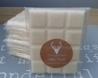 Exquisite Handmade Highly Scented Soy Wax Breakaway Melt Bar- After Eight