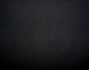 Fabric - cotton sweatshirt jersey fabric - black