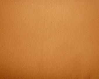 Fabric - Viscose elastane jersey fabric - orange.