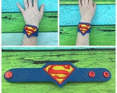 Super Guy bracelet, wristband, costume, party favor