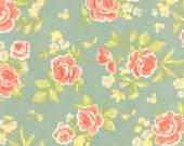 Strawberry Fields Revisited Fabric - One yard - Fig Tree & Co. - Moda Fabrics - Floral Fabric - Stock No. 20260-13