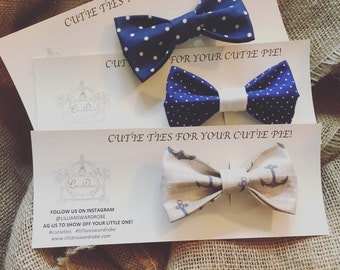 Cutie Ties For Your Cutie Pie!