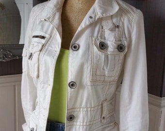 Women's Lightweight Jacket, Casual Jacket, Cotton Jacket