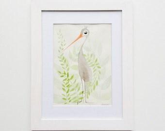 Bird - original Watercolour