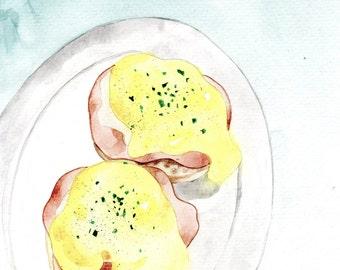 Articles similaires pommes aquarelle originale fruits - Cuisine provena ale jaune et verte ...