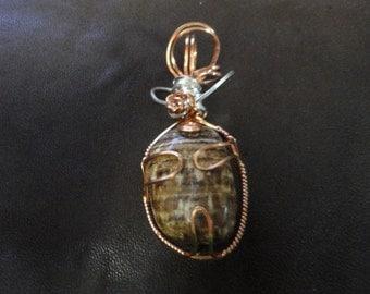 Aragonite Amulet