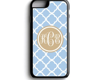 Monogram Phone Case - Monogram iPhone Case 6s - iPhone 7 Case with Monogram Cell Phone Case iPhone 6 Plus - Phone Case Custom -  FCM 131