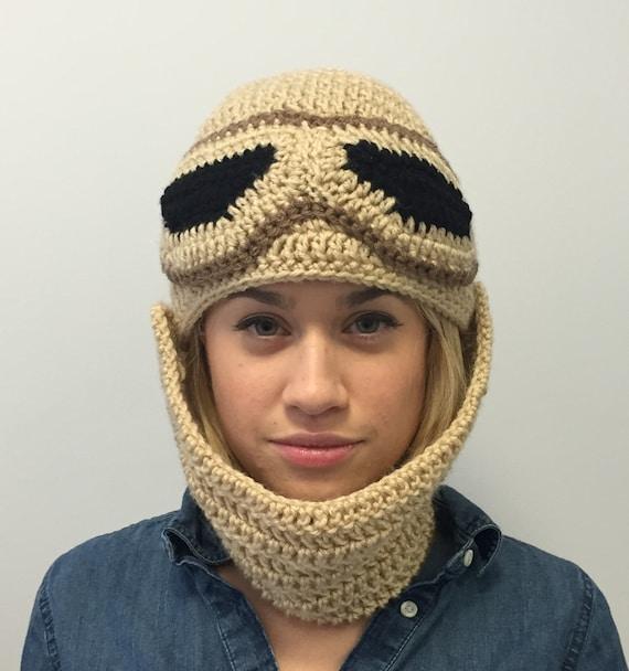 Rey Amigurumi Star Wars : Rey Hat Star Wars Crochet Beanie With Detachable Adjustable