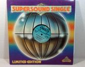 Three Degrees vintage vinyl record - Jump The Gun Single PROMO RARE OOP || 70's Disco Single