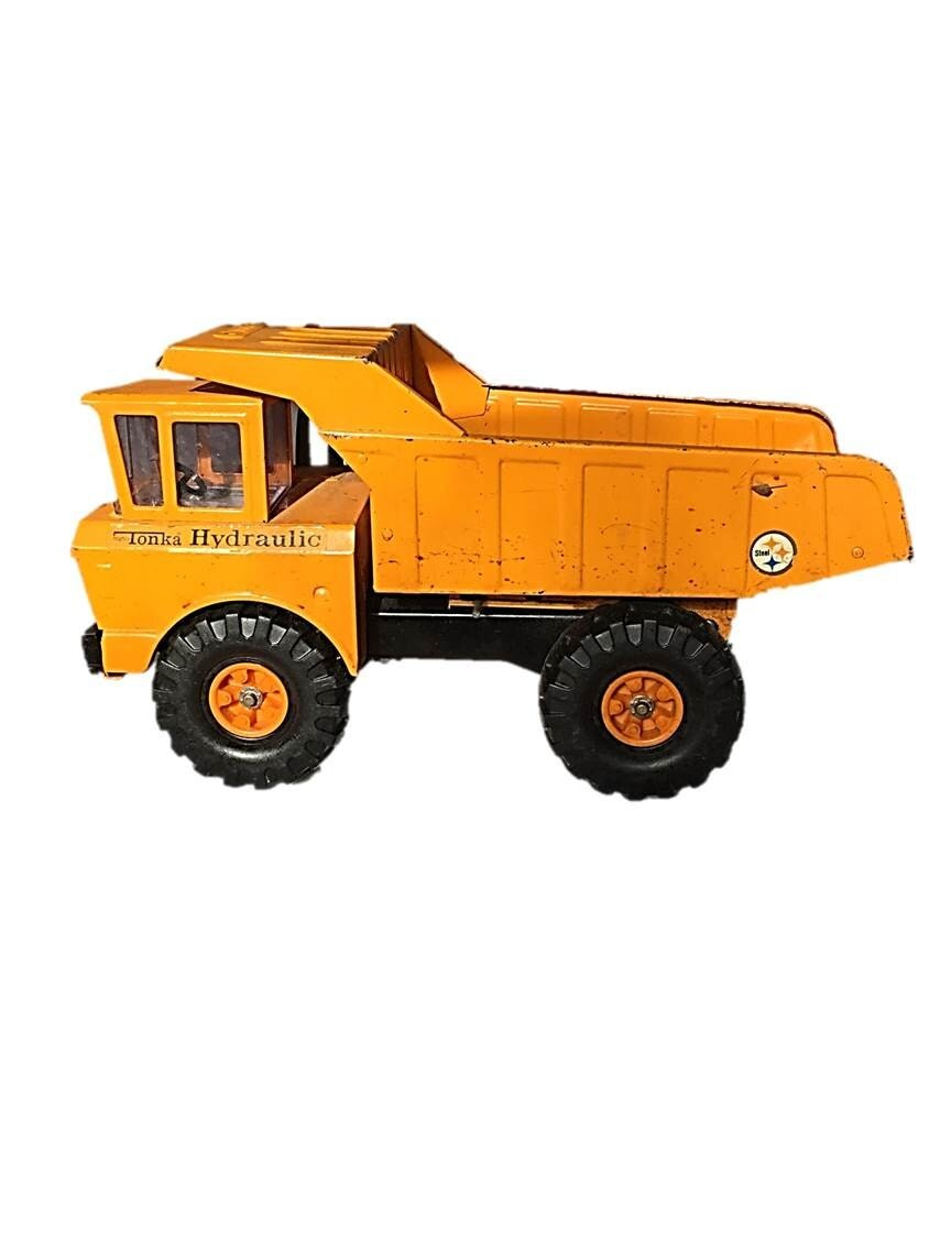 Camion benne basculante hydraulique tonka 1973 press tonka - Camion benne tonka ...