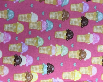Ice cream Fabric-1 yard