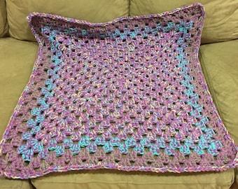 Crochet Baby blanket for car seat